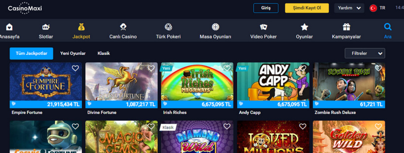 Casinomaxi Oyunları